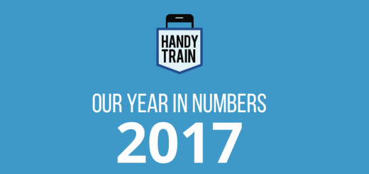We look at HandyTrain's eventful 2017 through a crisp infographic. HandyTrain has grown to become one of the best mlearning or mobile training platforms.