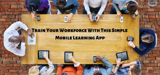 Learn more on how to improve employee retention and employee engagement via mobile first training, m-learning and engagement application.